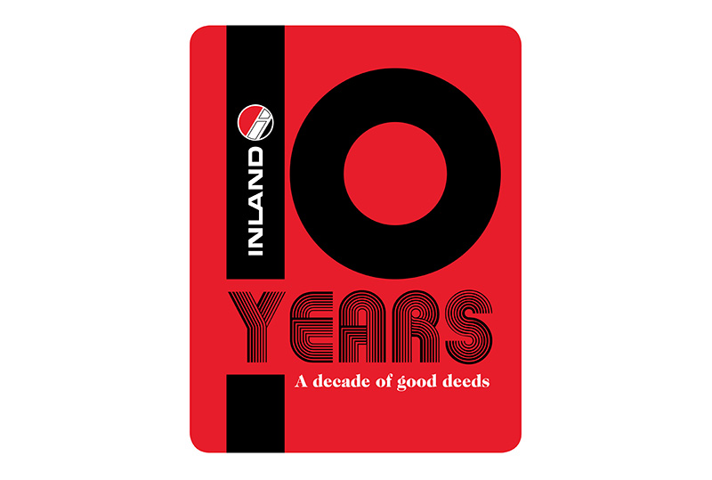 In 1978, Inland celebrated its 10th Anniversary and highlighted its first decade of good deeds.