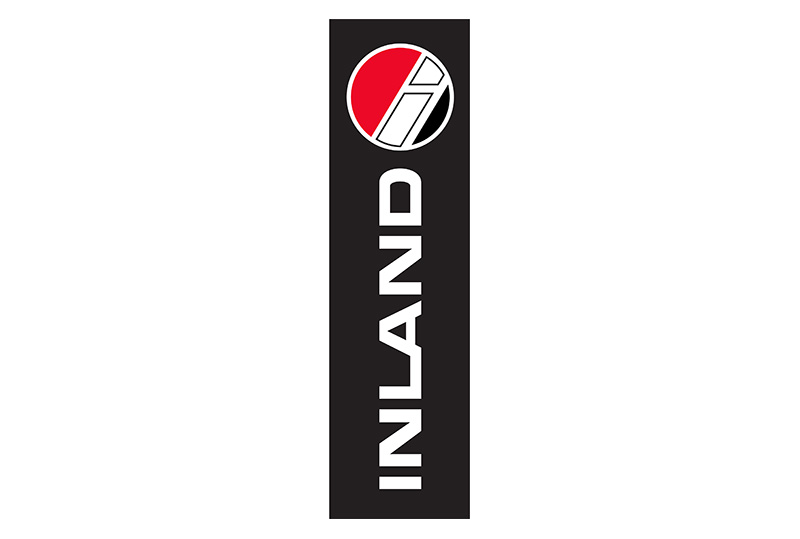 In 1974, Inland unveiled its first-ever logo. The vertical oriented Inland logo is well-known across the nation.