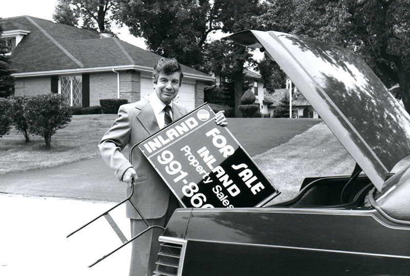 Inland Residential Sales Broker in the late 1970s