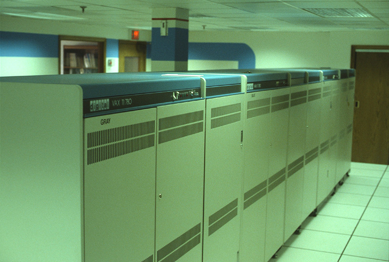 Inland Corporate Office Computer System in 1980 at 1919 Midwest Road Oak Brook, IL
