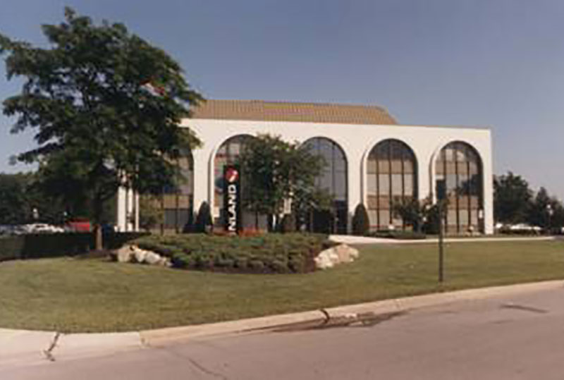 Inland Corporate Office from 1983-1987 located at 2100 Clearwater Drive Oak Brook, IL