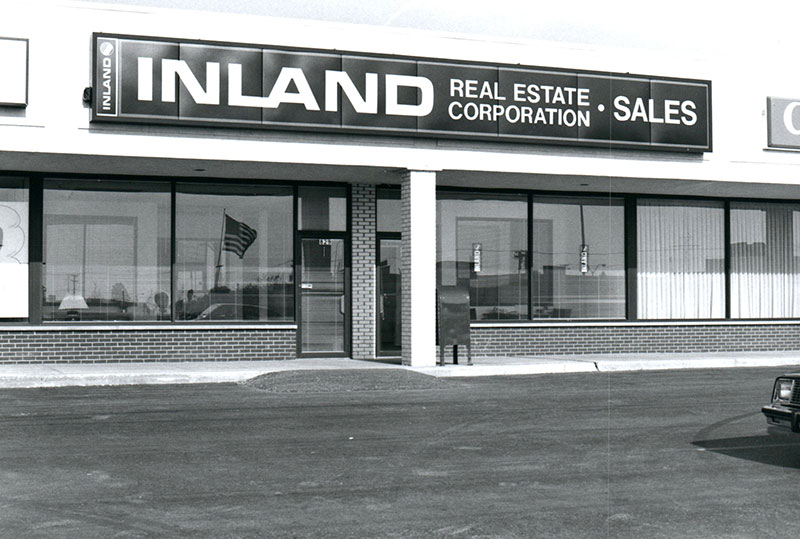 Inland Brokerage Office located in Palatine, IL during the 1980s