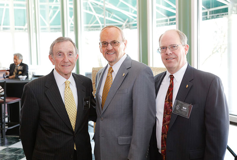 Inland's 2016 Lifetime Service Award gathering with Dick Kehoe, Dan Goodwin and Bill Andersen